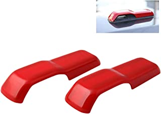 Sponsored Ad - RYANSTAR RACING 2pcs Engine Hood Hinge Cover Decoration Cover Stickers Exterior Accessories Compatible with...