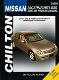 Nissan 350 Z (Chilton's Total Car Care Repair Manuals)