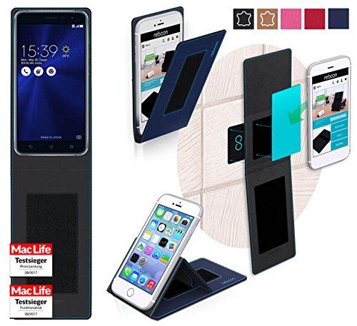 Hülle für Asus Zenfone 3 ZE552KL Tasche Cover Hülle Bumper | Blau | Testsieger