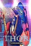 Thor: Power Of Thunder ; Marvel Themed Notebook Journal 6 x 9 inch