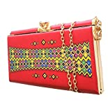 Habesha dress evening bag (Red)