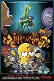 THE SIMPSONS TREEHOUSE OF HORROR 12'x18' Original Promo TV Poster SDCC 2019