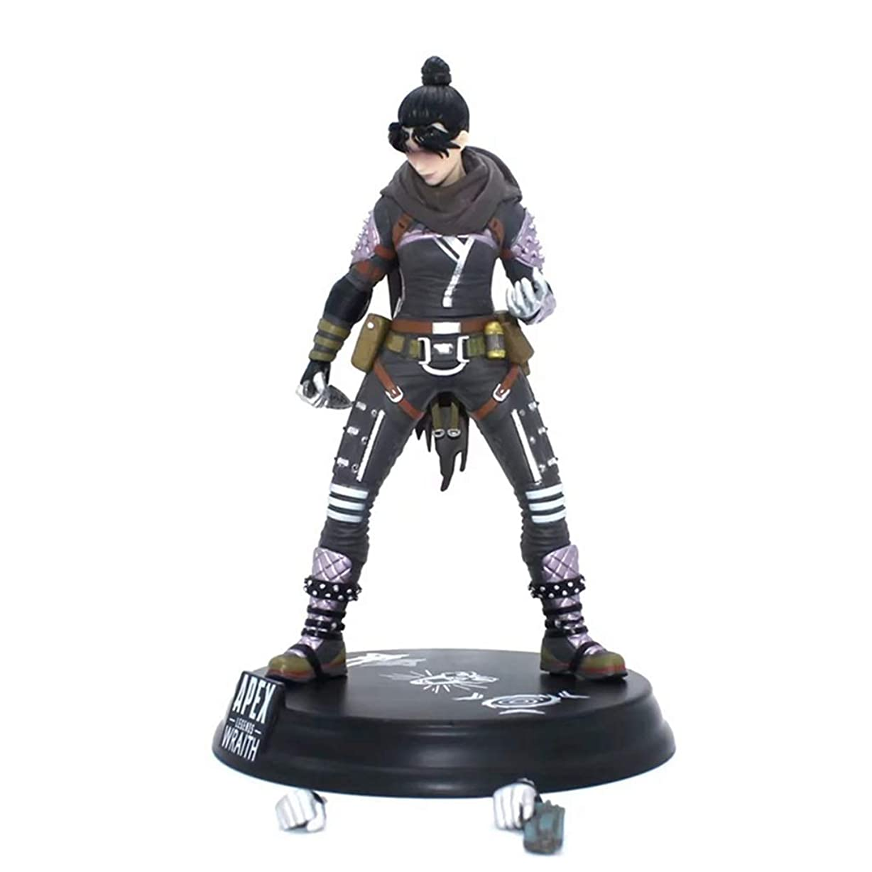 村民間人第二ゲームモデル、PVC製子供のおもちゃコレクションの像、デスクトップの装飾的なおもちゃ像のおもちゃのモデル、APEXのヒーロー(24cm) JSFQ