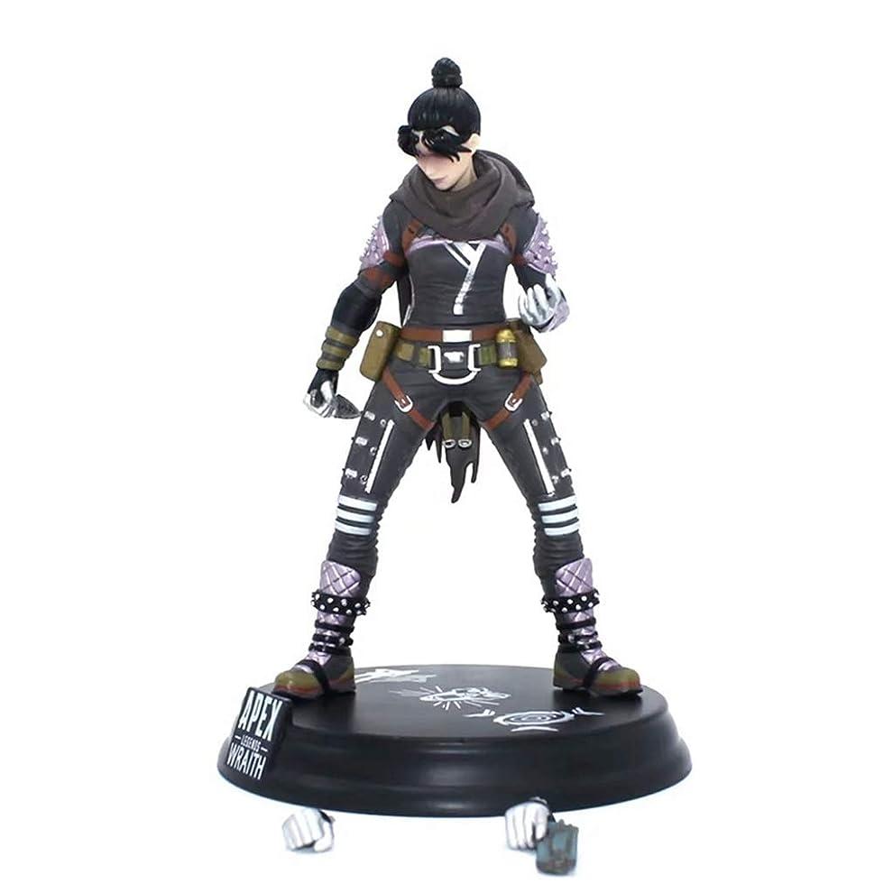毎年損傷気候ゲームモデル、PVC製子供のおもちゃコレクションの像、デスクトップの装飾的なおもちゃ像のおもちゃのモデル、APEXのヒーロー(24cm) SHWSM