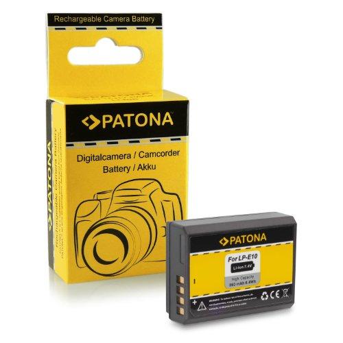 Batería LP-E10 para Canon EOS 1100D / EOS Rebel T3