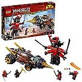 LEGO Ninjago - Perforadora de Cole, samurai gigante de juguete divertido de...
