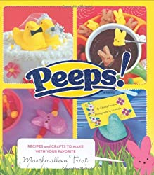 Image: Peeps: Recipes and Crafts to Make with Your Favorite Marshmallow Treat | Paperback: 96 pages | by Charity Ferreira (Author), Liz Wolfe (Photographer). Publisher: Chronicle Books (December 27, 2007)