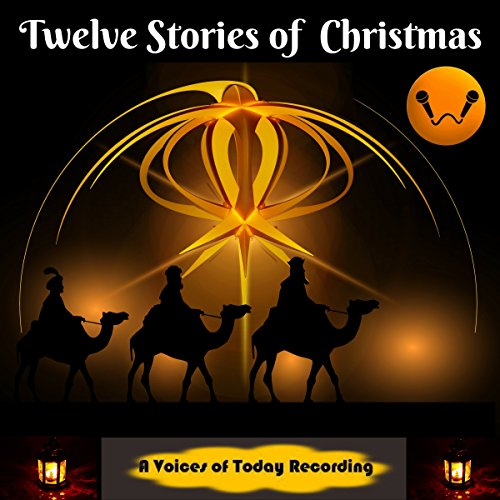 Twelve Stories of Christmas audiobook cover art