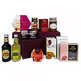 Der 'Nottinghill' Luxus Geschenkkorb mit 12 Gourmet Artikeln - Perfektes Geschenk Zum Geburtstag, Jahrestag, Als Danke Schön