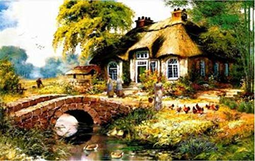 HXXCB - Jigsaw Puzzles for Adults 1000 Piece -Farmhouse - Kids Puzzles Toys Educational Puzzles Jigsaw