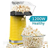Electric Hot Air Popcorn Popper Maker for Home Party Kids, No Oil Needed