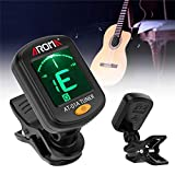 SUNXK Aroma AT-01A Clip-on Tuner Tuning for Guitar Bass Violin Ukulele Stringed Instruments Guitar Parts Accessories SUNXK