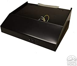 Heng's (R0423500-C1 Black 12 Volt Range Hood with Fan and Light