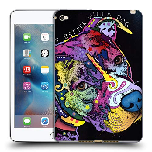 Official Dean Russo Life Is Just Better Dogs 5 Soft Gel Case Compatible for Apple iPad mini 4
