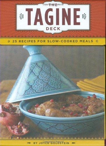 Download The Tagine Deck: 25 Recipes for Slow-Cooked Meals (Recipe Card) 0811865207