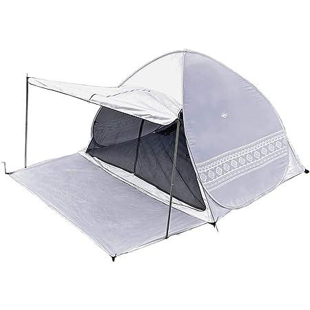 Viaggio+ ポップアップテント キャノピー付き タープ付き 収納袋 ペグ ロープ 200cm 2~3人用 アウトドア キャンプ
