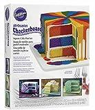 Wilton Checkerboard Cake Pan, 4 Piece Set