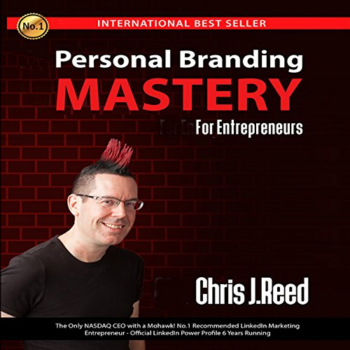 Personal Branding Mastery for Entrepreneurs audiobook cover art