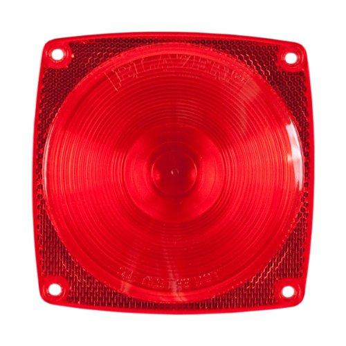 Blazer International B983 Stop/Tail/Turn Light Replacement Lens, Red