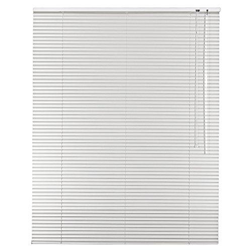 Sonnenschutz-HH - Aluminium Jalousie Standard 130 x 175 cm weiß / 130x175 cm/Alu-Jalousie Jalousette Fensterjalousie