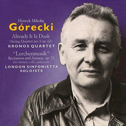 Kronos Quartet & London Sinfonietta Soloists