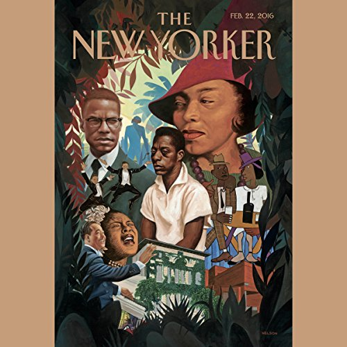The New Yorker, February 22nd 2016 (Nicholas Schmidle, William Finnegan, Anthony Lane) audiobook cover art