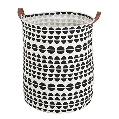Greenlans Wäschekorb, nordischer Stil, für Spielzeug, Kleidung, canvas, 1#, Einheitsgröße
