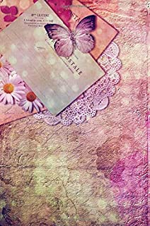 Butterfly Journal: Beautiful French Inspired Lavender Purple Calming Self Help Journal To Write In