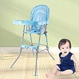 OUkaning - Silla alta plegable para bebé, silla de bebé, asiento de alta...