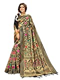 Estilo instantáneo sari para mujeres banarasi arte seda l indio Rakhi boda Diwali regalo sari con blusa sin costura