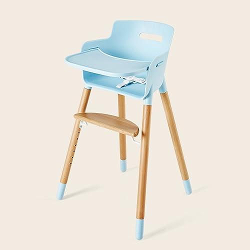 Chaise multifonctionnelle pour chaises pour bébé Chaise pour Chaise pour bébé Chaise à chaises pour Enfants en Bois Massif (Couleur   Bleu)