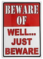 よく注意してください メタルポスタレトロなポスタ安全標識壁パネル ティンサイン注意看板壁掛けプレート警告サイン絵図ショップ食料品ショッピングモールパーキングバークラブカフェレストラントイレ公共の場ギフト