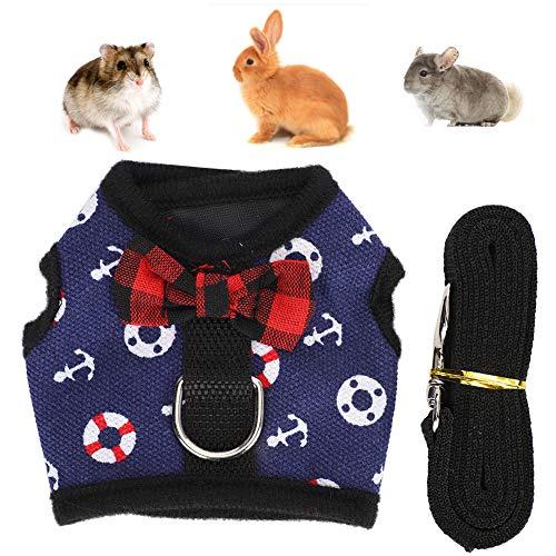Pet Vest Brustgurt Pet Chest Strap, Pet Vest Harness Harness Haustiere liefert Rabbit Pet Harness für Kaninchen(M)