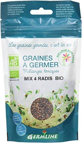 Germ'Line Graines Mix 4 Radis à Germer 100 g - Lot de 2