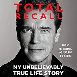 Total Recall audiobook cover art