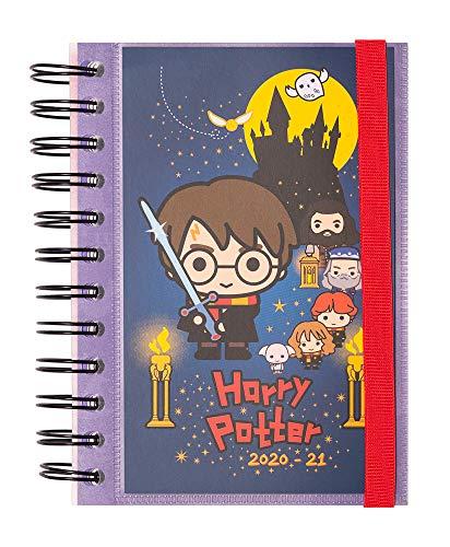 Grupo Erik - Agenda escolar 2020/2021 día página S Harry Potter, 11 meses (11,4x16 cm)