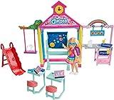 Barbie Chelsea Hora de ir a la escuela Muñeca con accesorios (Mattel GHV80)