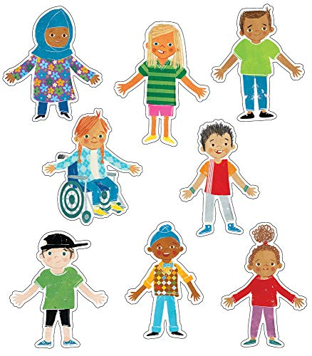 All Are Welcome Diverse Students Cutouts—Multicultural Children  Celebrating Diversity Bulletin Board Decorations  Classroom or Homeschool Décor (36 pc)
