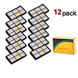 LOTIN 12 Pack HEPA Filter Filters for iRobot Roomba 800 900 Series 860 870 871 880 960 980 Vacuum Cleaning Robots