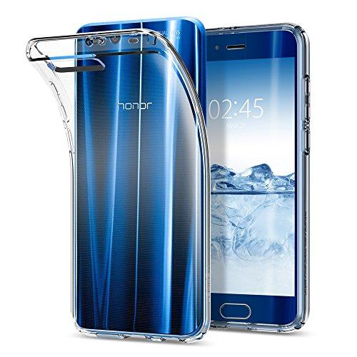 Spigen Cover Honor 9 Liquid Crystal Progettato per Huawei Honor 9 Cover Custodia - Crystal Clear