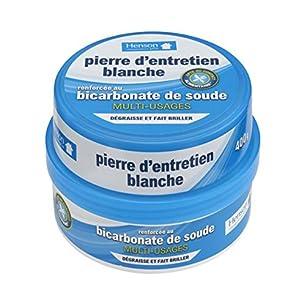 Henson - Piedra de Mantenimiento Blanca de bicarbonato, 400 g