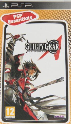 Jogo Guilty Gear XX Accent Core Plus PSP