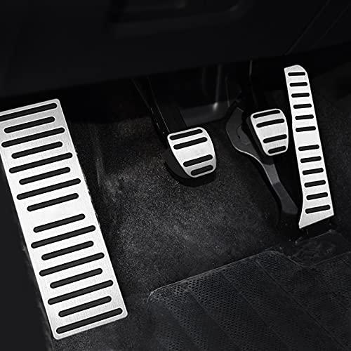 Fußpedal Pedalkappen Auto Gas Bremspedal Abdeckung Zubehör, Für Audi A3 8P Q3 TT 8J Für Skoda Octavia 2 A5 Yeti Superb 2 Für VW Golf 5 6 MK5 MK6