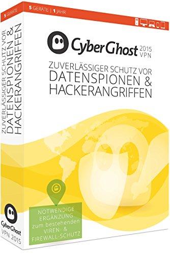 CyberGhost VPN Edition 2015 - 5 Gerät