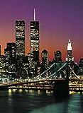 1art1 40528 New York - Manhattan 4-teilig, Fototapete