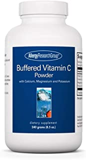 Allergy Research Group - Buffered Vitamin C Powder - Antioxidant, Immune, Calcium/Mag/K - 240 g (8.5 oz)