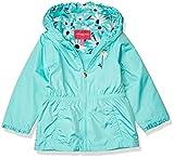 LONDON FOG Girls' Reversible Soft & Sensible Jacket Coat, New Aqua Coast, 4