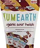 YUMEARTH Organic Sour Twist Watermelon Lemonade, 0.7 OZ