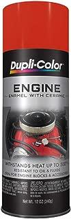 Dupli-Color DE1652 Ceramic Chrysler Hemi Orange Engine Paint - 12 oz.
