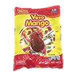 Dulces Vero Vero Mango Paletas Sabor Fresa Con Chile Mexican Hard Candy Chili Pops 40 Pc